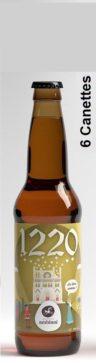 """Bière """"1220"""" Ambrée façon TRAPPISTE"""