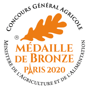 MEDAILLE BRONZE PARIS 2020