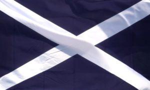 WAVING FLAG SCOTLAND